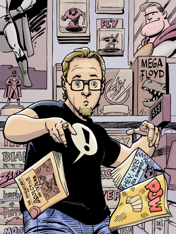 Paul Smith Comic Shop Cover