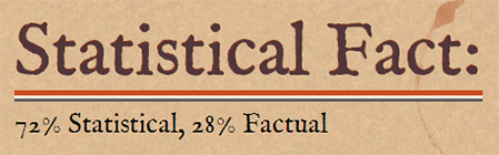 Statistical Fact comic series title