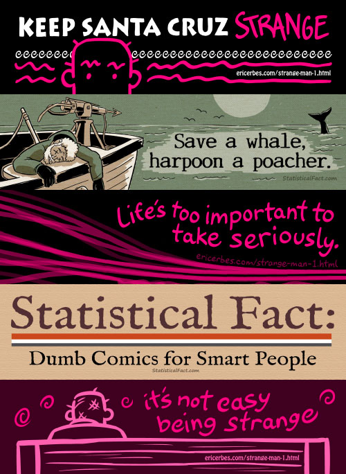 Statistical Fact 5 bumper sticker collection
